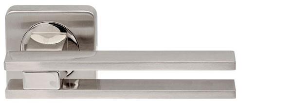 Ручки на розетке ARMADILLO BRISTOL SQ006-21SG/GP-1