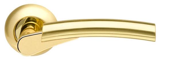 Дверные ручки на розетке ARMADILLO VEGA-LD21-1SN-CP-3